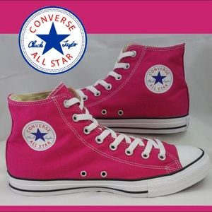 Pink CONVERSE High Top Sneakers 9.5